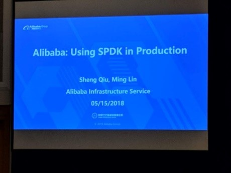 Alibaba; Using SPDK in Production